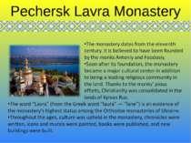 Pechersk Lavra Monastery