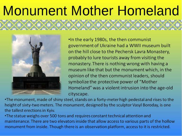 Monument Mother Homeland