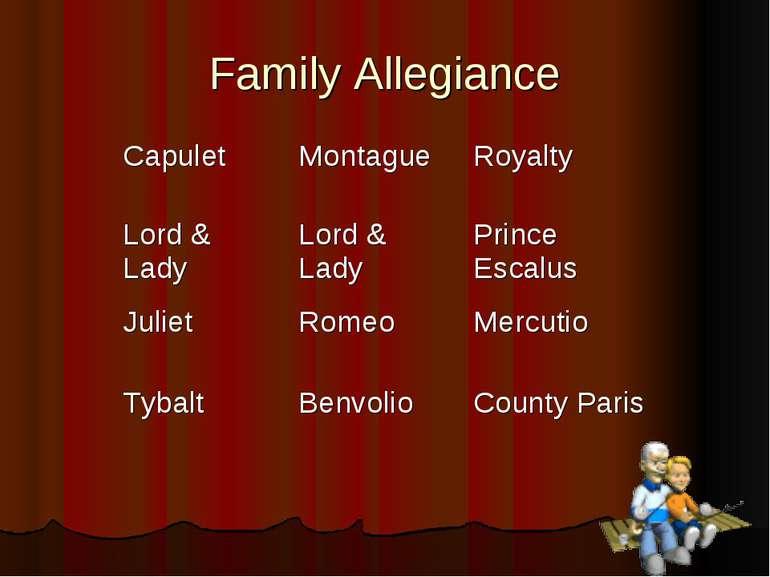 Family Allegiance