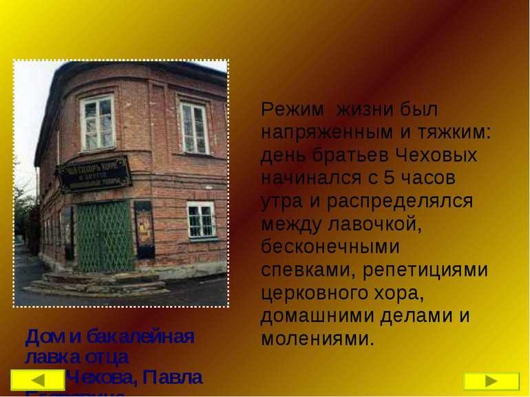Режим жизни был напряженным и тяжким: день братьев Чеховых начинался с 5 часо...