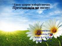 Презентація на тему: Підготувала: вихователь ГПД ЗОШ №3 м.Дубна Трофимюк Є.В....