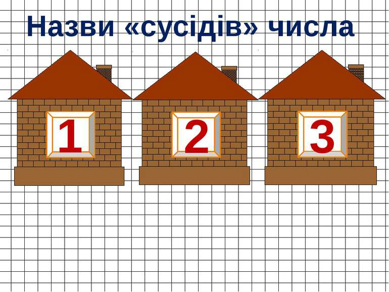 2 1 3 Назви «сусідів» числа