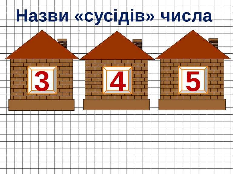 4 3 5 Назви «сусідів» числа