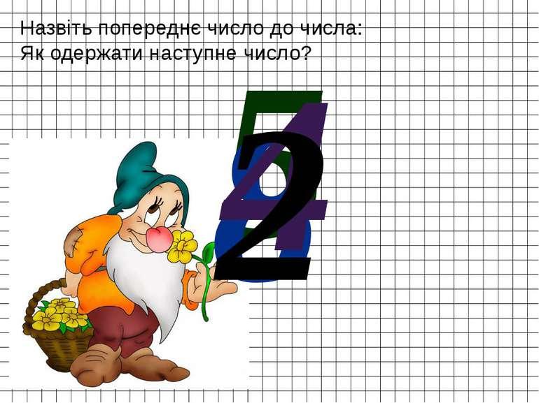 Назвіть попереднє число до числа: Як одержати наступне число? 5 8 4 2
