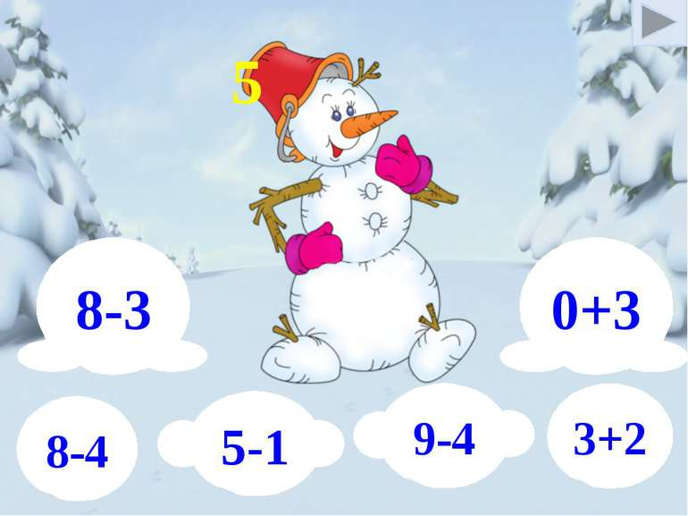 8-3 0+3 5-1 9-4 8-4 3+2 5