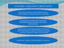 ОСНОВНІ ЗАВДАННЯ САМООСВІТИ: ВДОСКОНАЛЕННЯ ТЕОРЕТИЧНИХ ЗНАНЬ, ПРОФЕСІЙНОЇ КОМ...