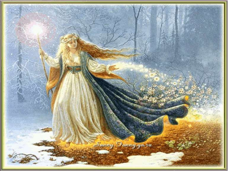 Привітанням журавля Я пробуджую поля, Наповняю ручаї Та заквітчую гаї. Кожен ...