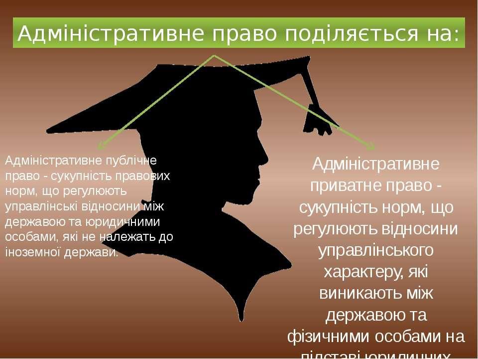 Адміністративне публічне право - сукупність правових норм, що регулюють управ...