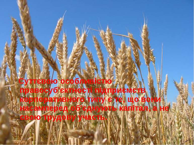 Суттєвою особливістю правосуб'єктності підприємств корпоративного типу є те, ...