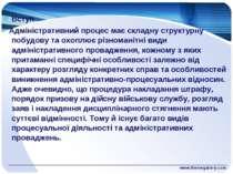www.themegallery.com Вступ Адміністративний процес має складну структурну поб...