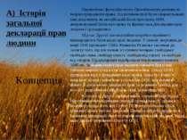 А) Історія загальної декларації прав людини Європейські філософи епохи Просві...
