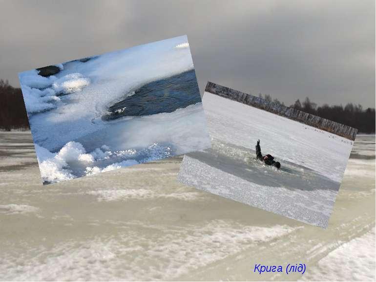 Коли холодно зимою – Річка замерзає. Її скельце під собою До весни ховає. Кри...