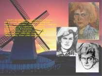 Поряд з монументальним живописом А.Горська пише пейзажі, портрети, серед яких...