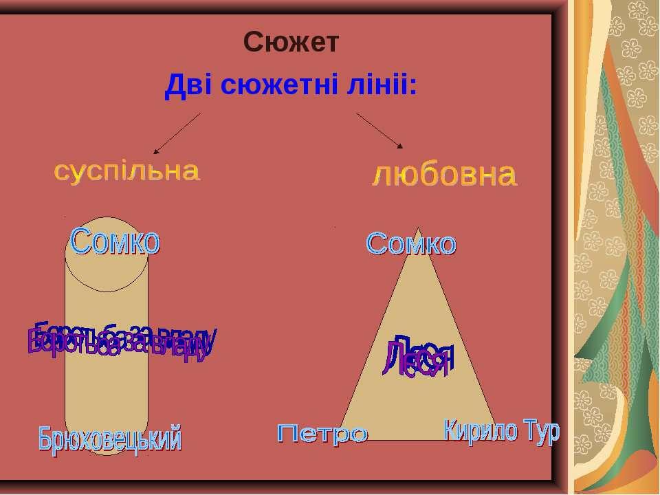 Сюжет Дві сюжетні лініі: