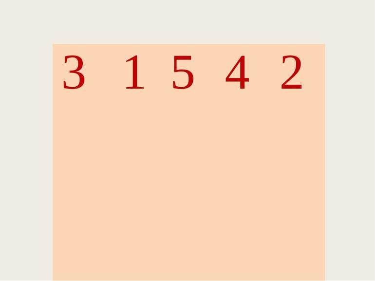 3 1 5 4 2 С М О Л А