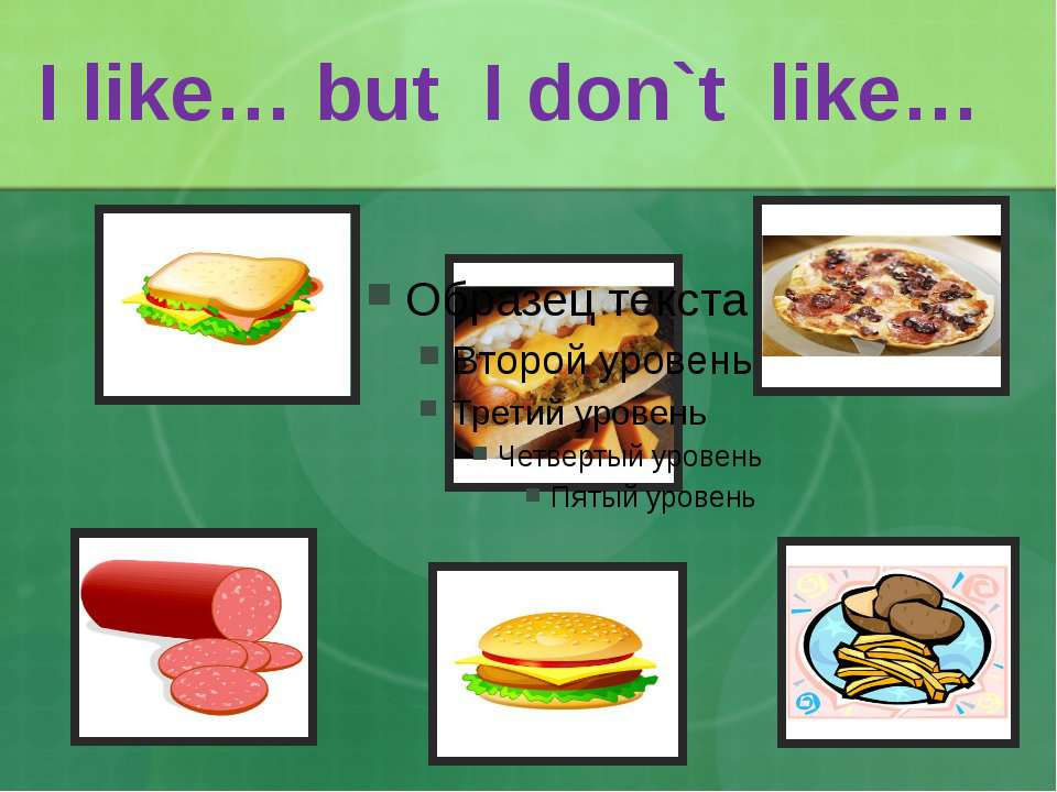 I like… but I don`t like…