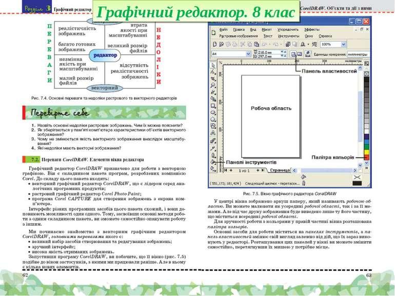 Графічний редактор. 8 клас