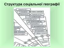 Структура соціальної географії