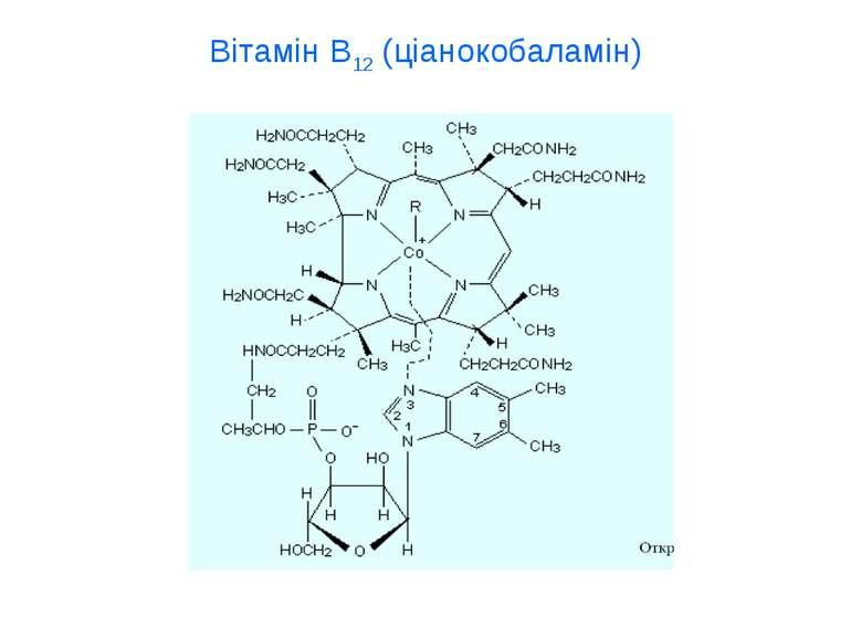 Вітамін В12 (ціанокобаламін)