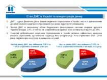 Стан ДМС в Україні та концентрація ринку ДМС – єдина фактично діюча форма мед...