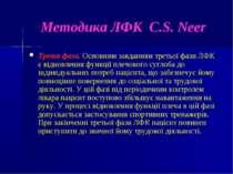 Методика ЛФК C.S. Neer Третя фаза. Основним завданням третьої фази ЛФК є відн...