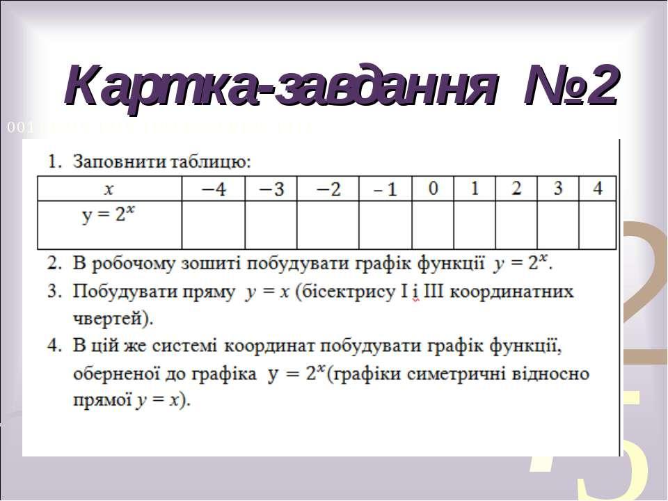 Картка-завдання № 2