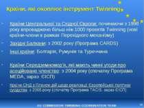 * Країни, які охоплює інструмент Twinning Країни Центральної та Східної Європ...