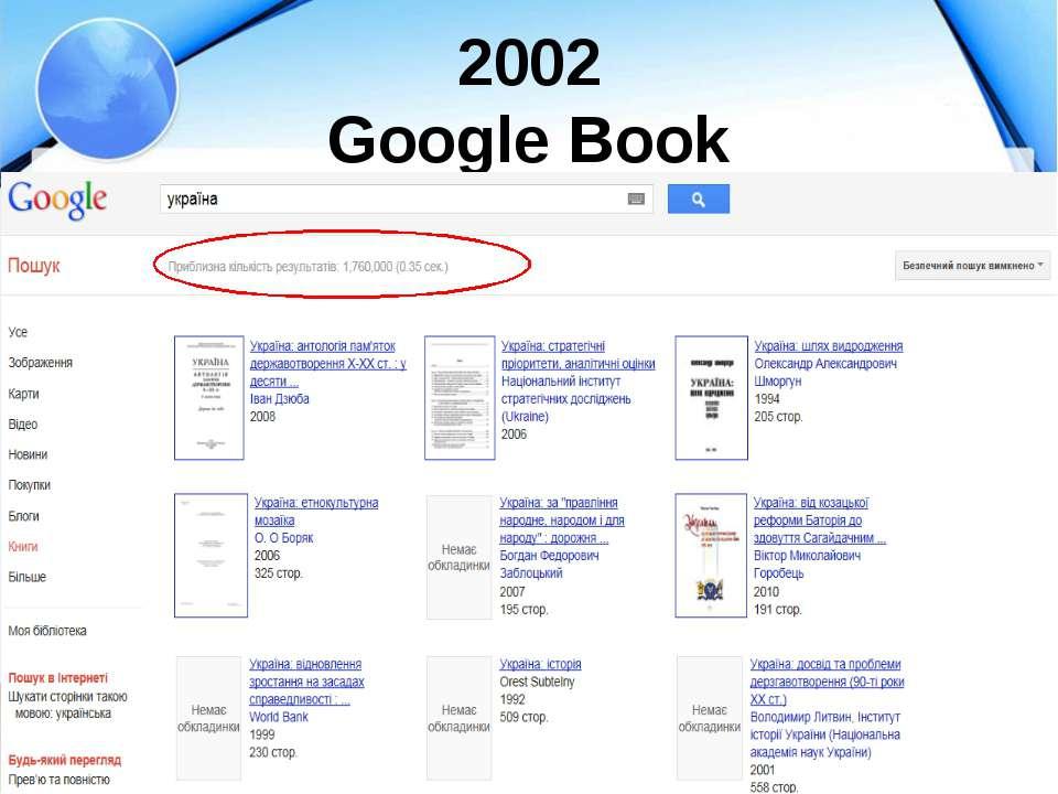 2002 Google Book