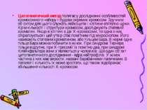 Цитогенетичний метод полягає у дослідженні особливостей хромосомного набору і...