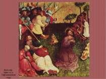 Мульчер. Христос в Гефсиманском саду