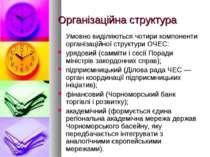 Організаційна структура Умовно виділяються чотири компоненти організаційної с...