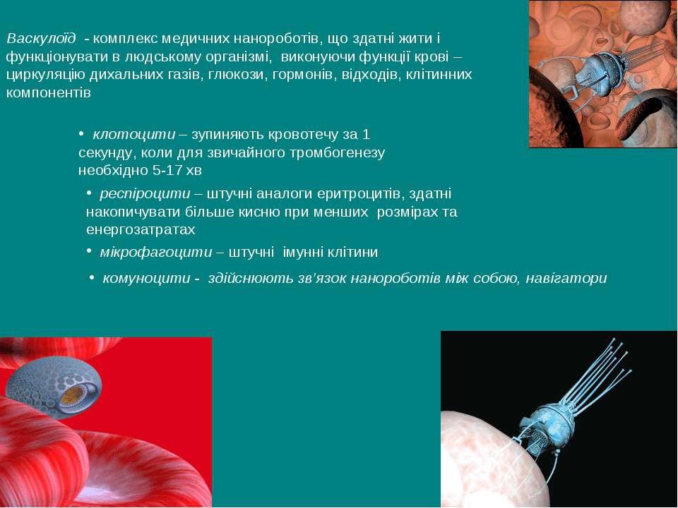 респіроцити – штучні аналоги еритроцитів, здатні накопичувати більше кисню пр...