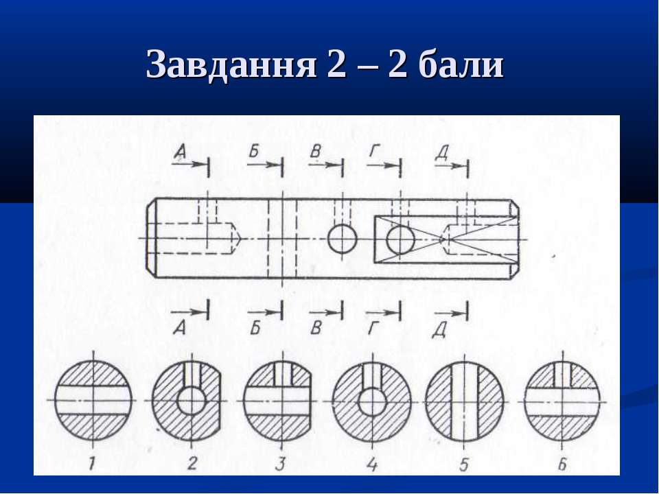 Завдання 2 – 2 бали