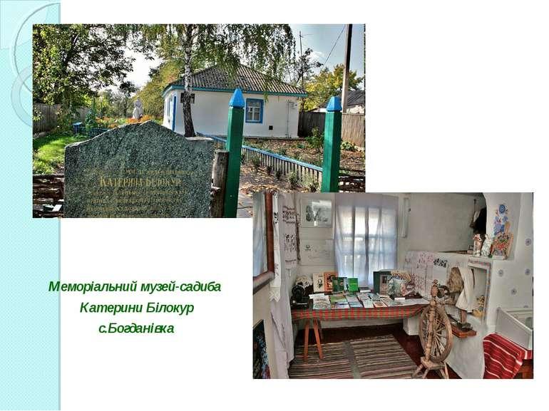 Меморіальний музей-садиба Катерини Білокур с.Богданівка