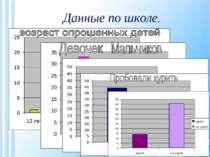 Данные по школе.