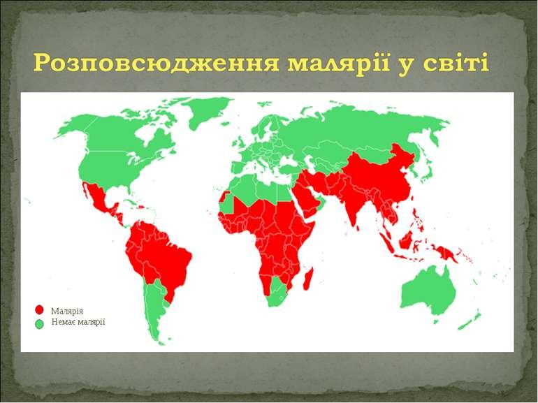 Малярія Немає малярії