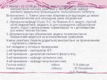 У період з 22.10.08 до 23.10.08 комісія перевірила збереження та використання...