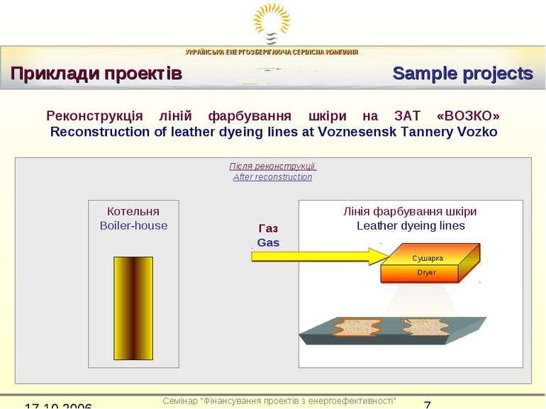 Приклади проектів Sample projects Після реконструкції After reconstruction Лі...