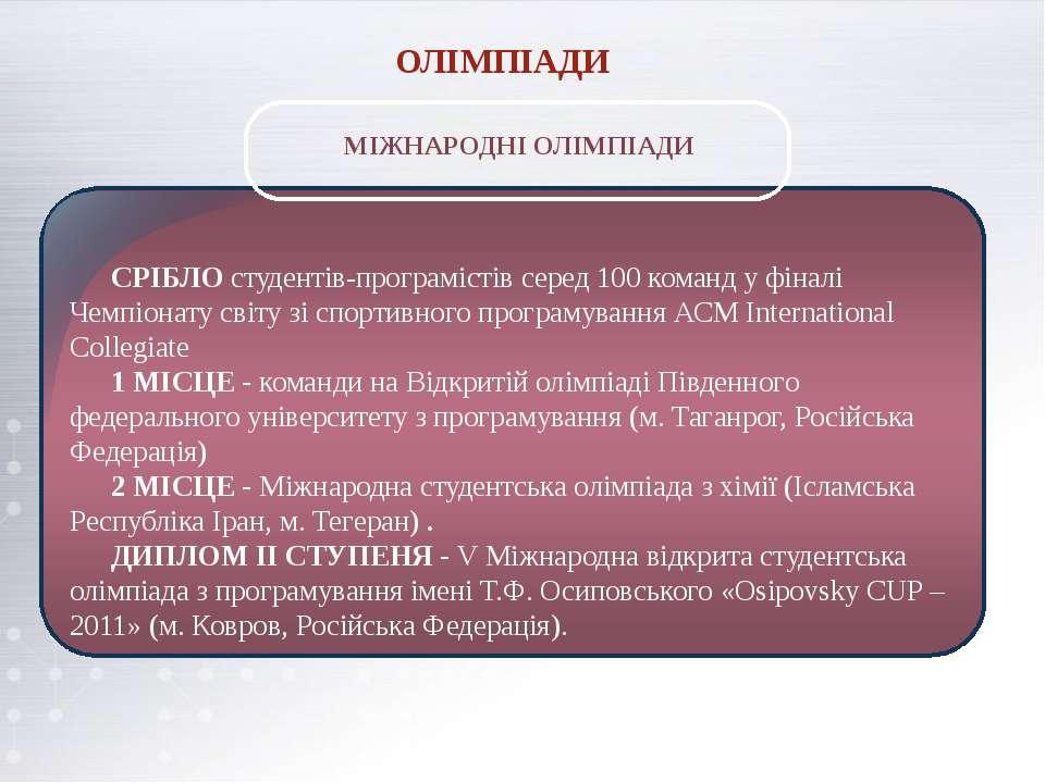СРІБЛО студентів-програмістів серед 100 команд у фіналі Чемпіонату світу зі с...