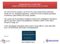 www.deputat.org.ua * За статистичними даними, протягом 2011 року замовниками ...