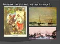 Малюнки із Аральської описової експедиції