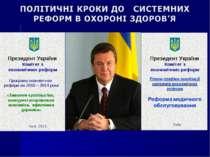 Президент України Комітет з економічних реформ Програма економічних реформ на...