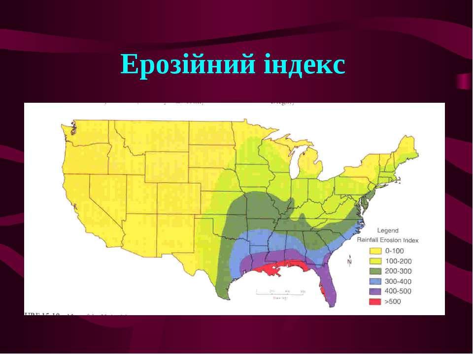 Ерозійний індекс