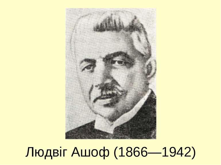 Людвіг Ашоф (1866—1942)