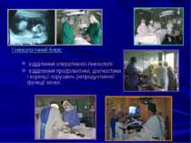 Гінекологічний блок: відділення оперативної гінекології відділення профілакти...