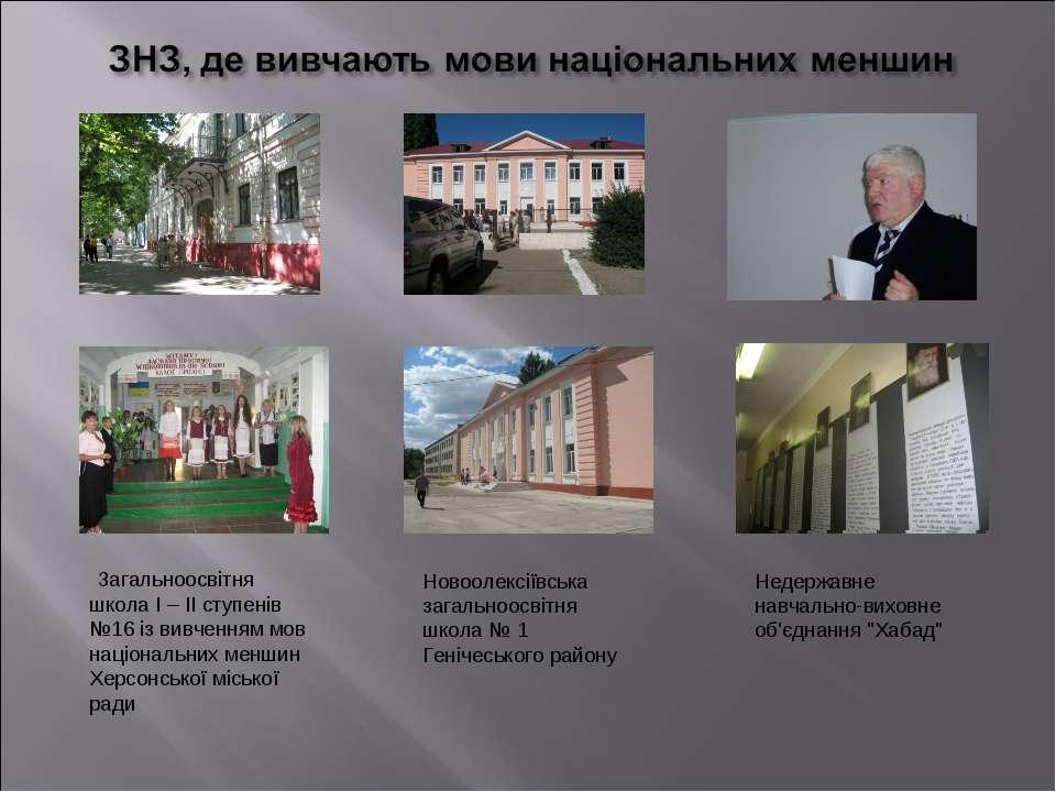 Загальноосвітня школа I – II ступенів №16 із вивченням мов національних менши...