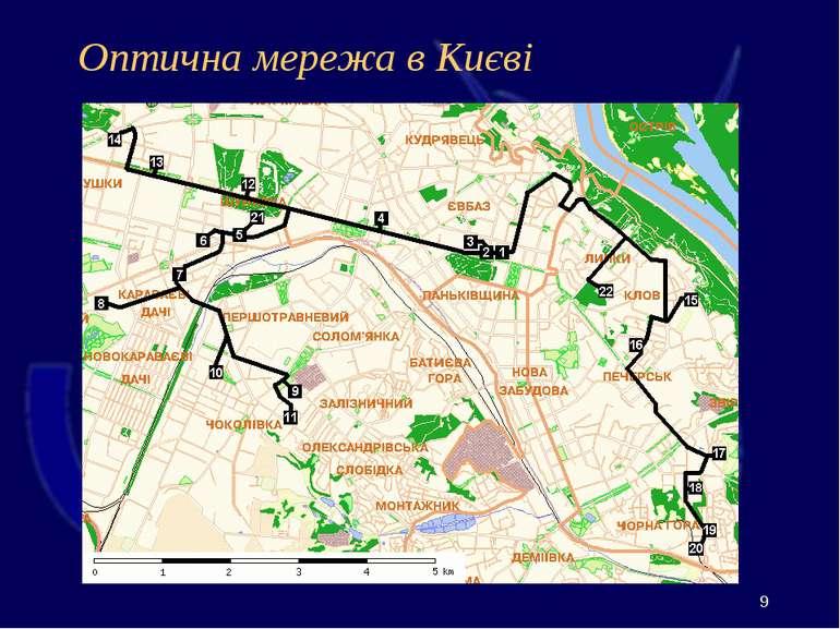 Оптична мережа в Києві