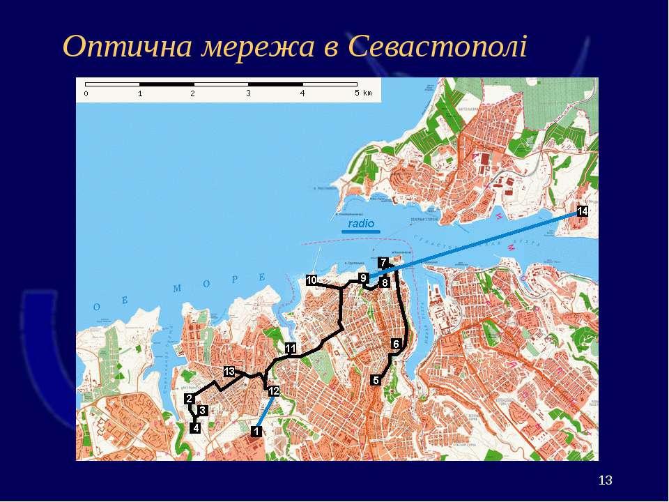 Оптична мережа в Севастополі