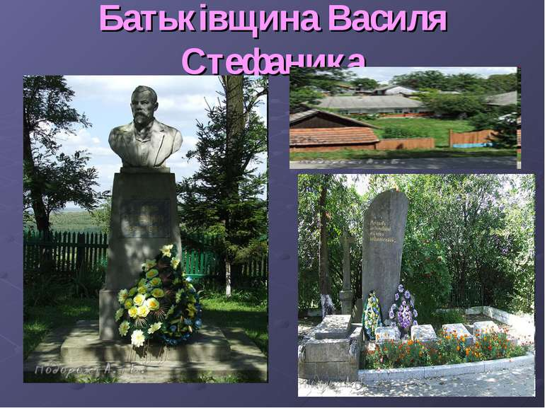 Батьківщина Василя Стефаника
