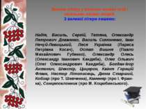 Велика літера у власних назвах осіб і загальних назвах людей З великої літери...